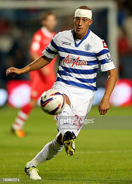 Bobby Zamora of Queens Park Rangers during the Capital One Cup Second Round match between Queens Park Rangers and Walsall at Loftus Road on August 28...