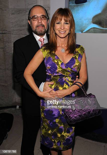 Bobby Zarin and Jill Zarin attend Conde Nast Traveler's 2008 Reader's Choice Awards at the New York Public Library on October 15 2008 in New York City
