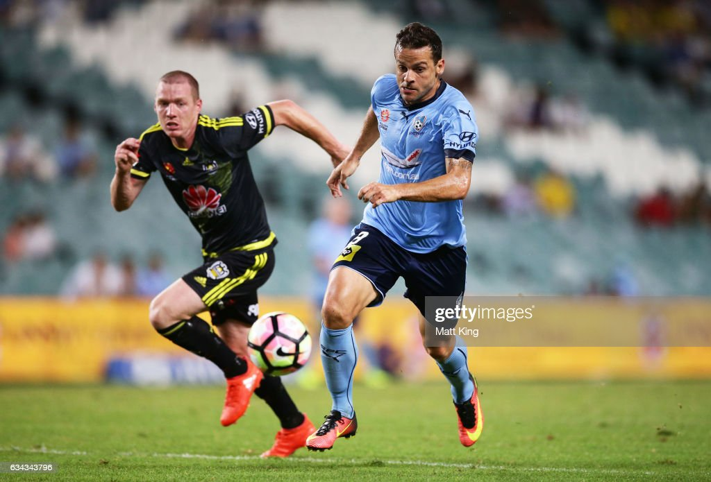 A-League Rd 19 - Sydney v Wellington
