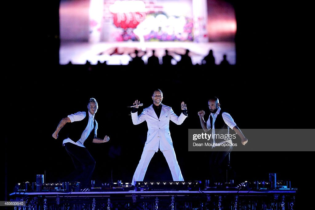 DJ Bobo performs at the opening ceremony during day one of the 22nd European Athletics Championships at Stadium Letzigrund on August 12, 2014 in Zurich, Switzerland.
