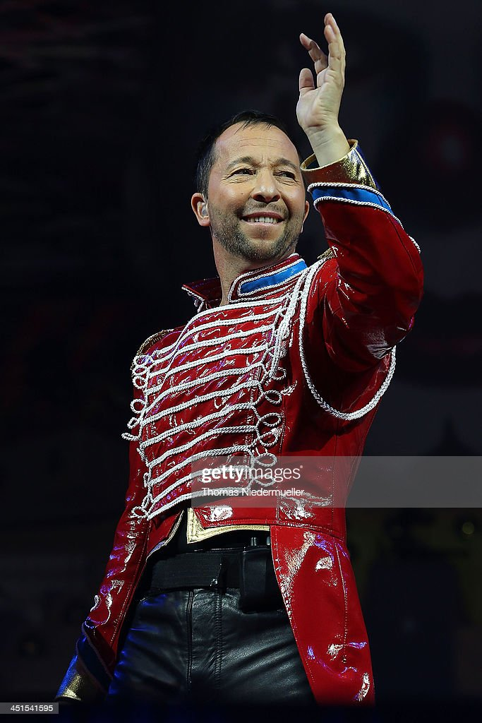 DJ Bobo performs during his premiere show 'Circus' at Europapark on November 23, 2013 in Rust, Germany.