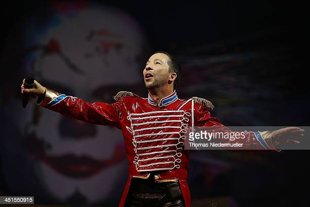 Bobo performs during his premiere show 'Circus' at Europapark on November 23 2013 in Rust Germany