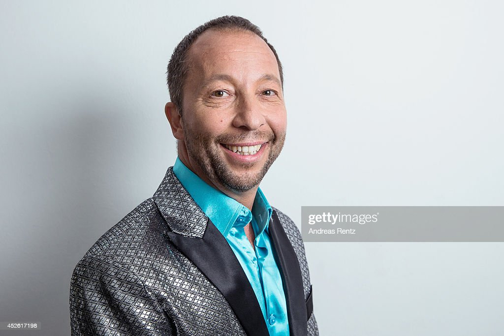 DJ Bobo poses for a portrait on July 19, 2014 in Grossaspach, Germany.