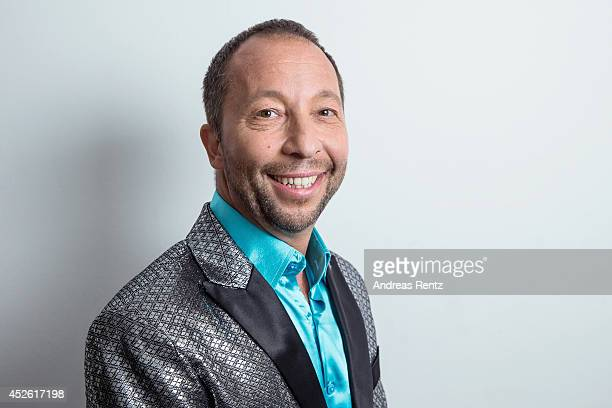 DJ Bobo poses for a portrait on July 19 2014 in Grossaspach Germany