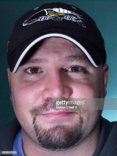 US bobsled Olympic team member Steve Holcomb photographed for the 2010 Winter Games Preview issue of Sports Illustrated on September 14 2009 in...