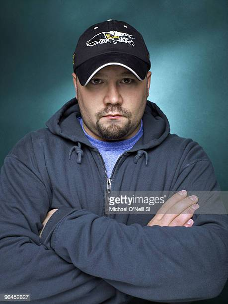 Bobsleigh 2010 Winter Olympic Games Preview Portrait of USA bobsledder Steve Holcomb in Chicago IL September 14 2009 Set Number X82993 TK1 R1 F33