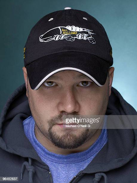 Bobsleigh 2010 Winter Olympic Games Preview Portrait of USA bobsledder Steve Holcomb in Chicago IL September 14 2009 Published image Set Number...