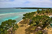 From the lighthouse, the Ragged Keys and Boca Chita Key can be seen as part of Biscayne National Park.