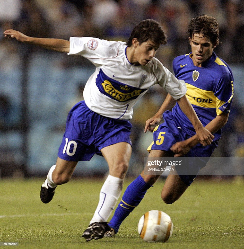 Boca Juniors Fernando Gago R and Univ
