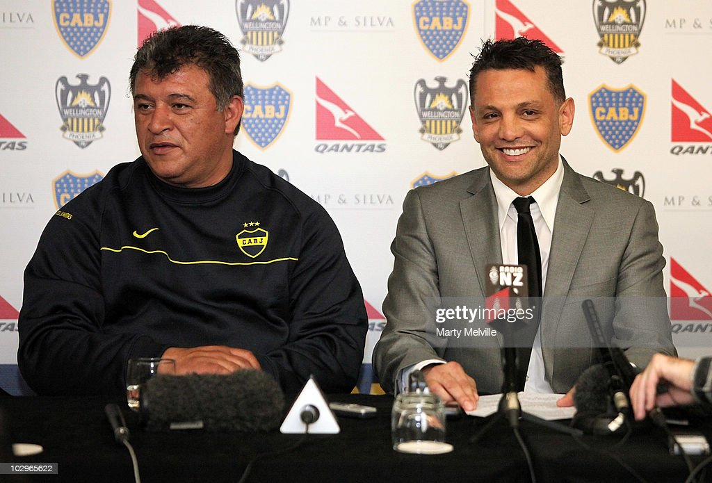 Wellington Phoenix v Boca Juniors Press Conference