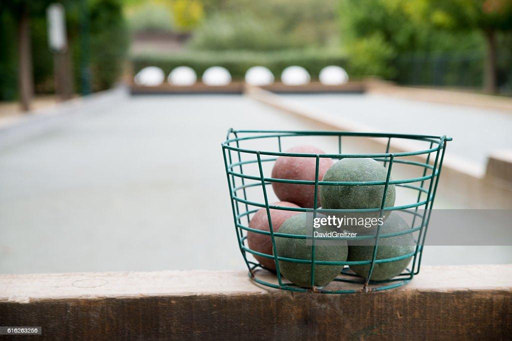 Bocce Balls : Stock Photo