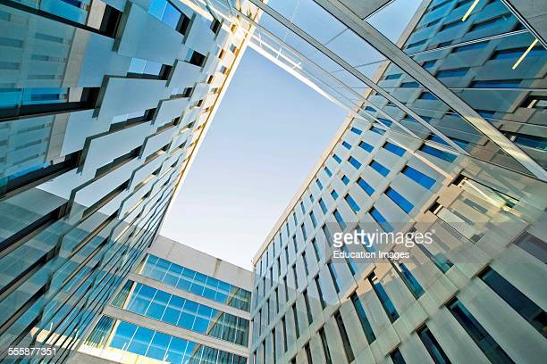 Bocconi University Designed By Grafton Architects Arch Shelley Mcnamara Yvonne Farrell Milan Italy