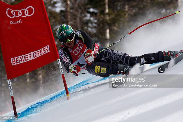 Bode Miller of the USA takes 4th place during the Audi FIS Alpine Ski World Cup Men's Downhill on December 5 2009 in Beaver Creek Colorado