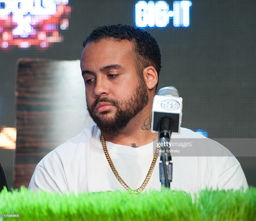 Bodega Bamz attends the Rock The Bells 2013 press conference and launch party at Highline Ballroom on June 24, 2013 in New York City.