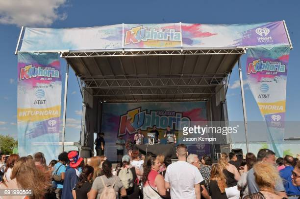 Bodega Brad performs during 1035 KTU's KTUphoria 2017 official Pregame party at Northwell Health at Jones Beach Theater on June 3 2017 in Wantagh New...