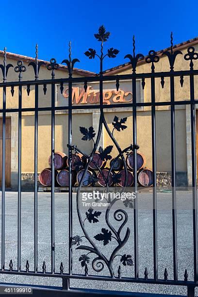 Bodegas Muga winery at Haro in La Rioja province of Northern Spain