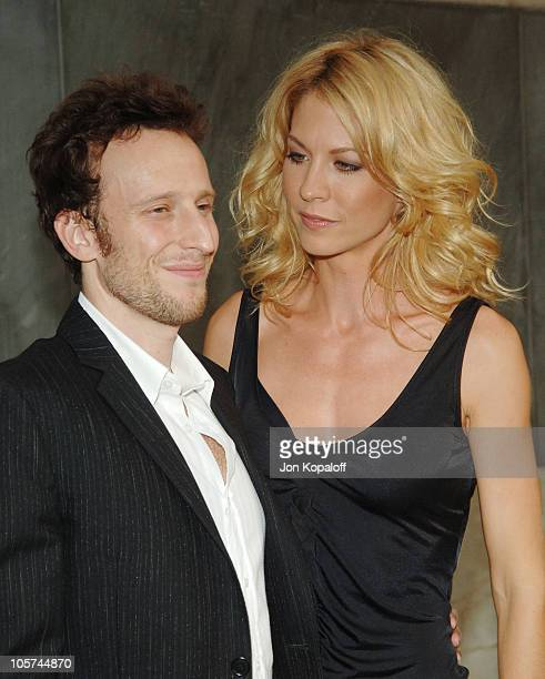 Bodhi Elfman and wife Jenna Elfman during CBS Summer 2005 Press Tour Party at Hammer Museum in Westwood California United States