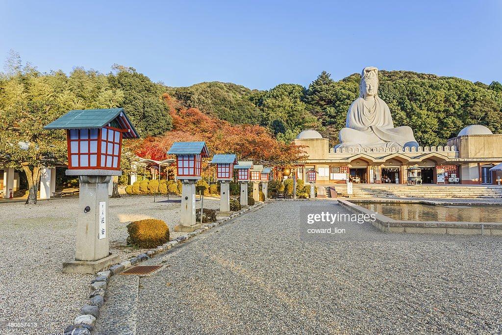 Bodhisattva Avalokitesvara (Kannon) at Ryozen Kannon in Kyoto : Stock Photo