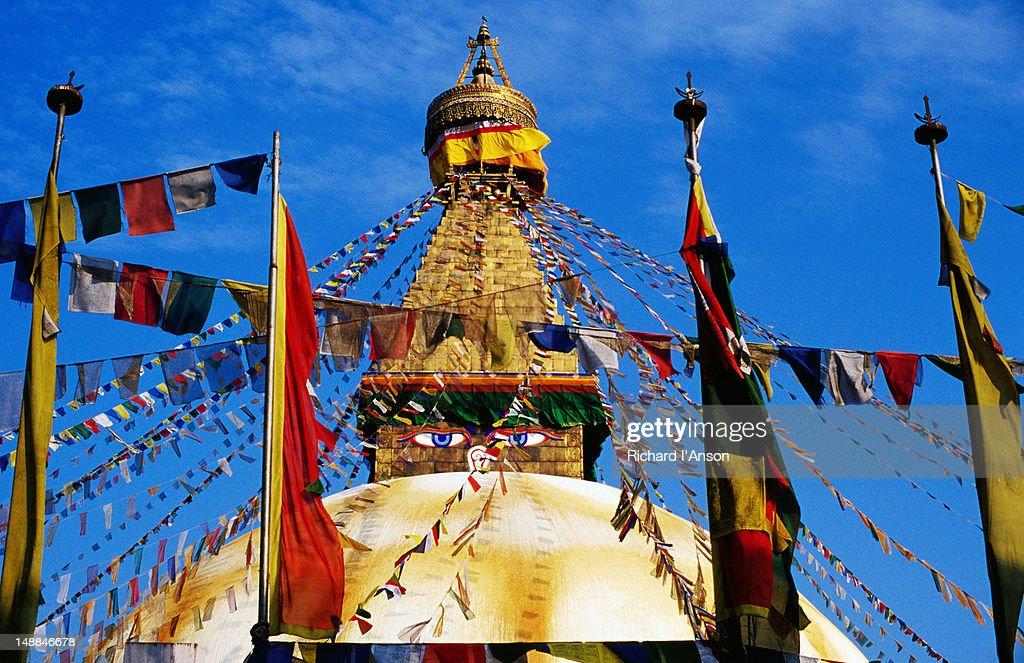 Bodhnath Stupa.