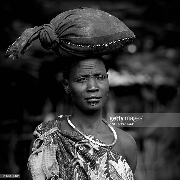 Bodi tribe in Ethiopia on October 25 2008 The Me'en or Bodi people live around Omo River in south Ethiopia Originally they were pastoralists but due...