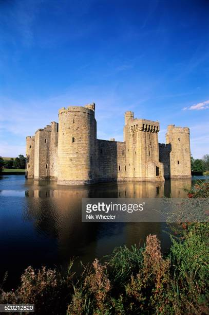 Bodiam Castle Stock Photos And Pictures Getty Images