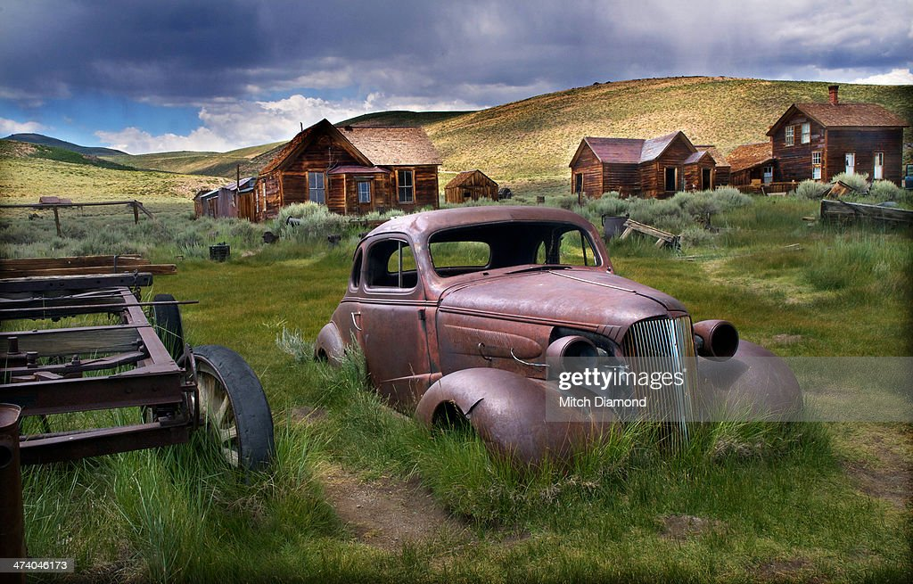 Bodie ghost town relics