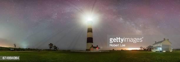 Bodie Island Light House Milky Way Panorama