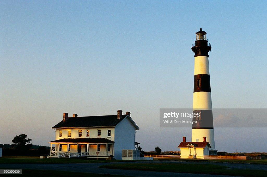 Bodie Island Lighthouse near Nags Head