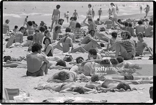 Bodies everywhere broil in the Florida sun as vacationing college students pursue that important goal of Spring Vacation in the south a sunburn...