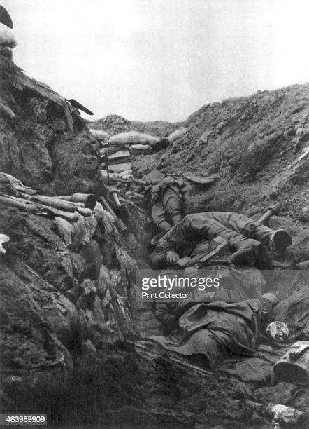 Bodies in a trench at Mort Homme Verdun France 9 April 1916 The small ridge known as MortHomme saw some of the fiercest fighting at the Battle of...