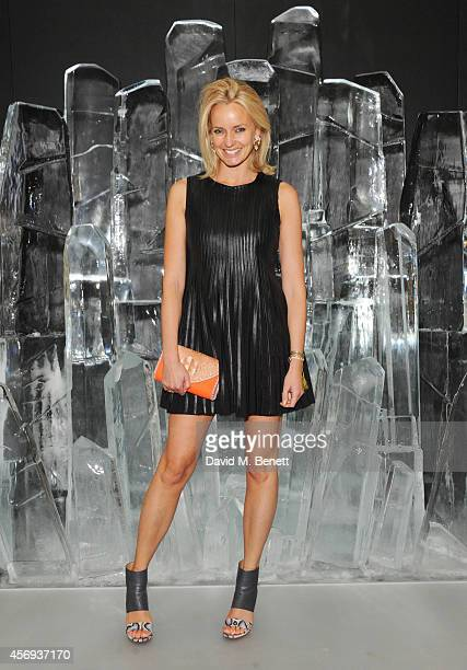 Bodil Blain attends the dinner hosted by Sandra Choi Creative Director of Jimmy Choo to unveil Jimmy Choo's new VICES collection and installation by...