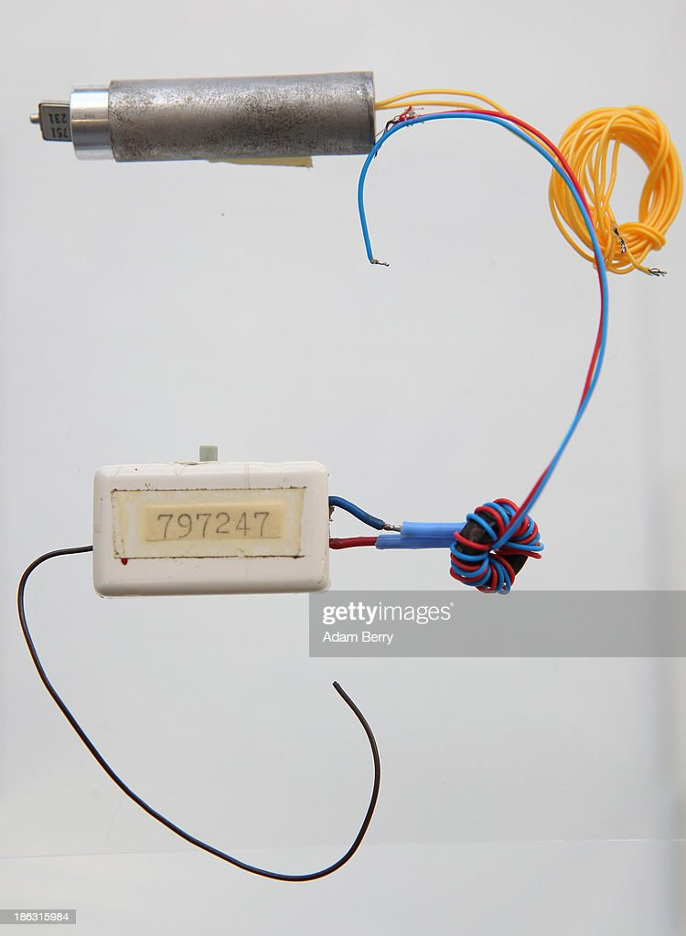 A 'Bodil' eavesdropping device, or bug, produced in Germany in the 1980s, sits on display at the Stasi (Staatssicherheit), or East German Secret Police Museum, on October 30, 2013 in Berlin, Germany. German officials have maintained that they had strong evidence indicating that the American Nation Security Agency (NSA) has eavesdropped on Chancellor Angela Merkel's mobile phone, surveillance that the U.S. has since claimed is essential to its security operations and is standard procedure. The charge has caused a furor among political leaders across Europe, but is particularly troublesome to those who, like Merkel, grew up in the former East Germany and have recent memories of being spied upon by their own government. In response to anger over the matter from Germany, Mexico, France, Spain and Brazil ,the U.S. Senate Intelligence committee is currently conducting a major review of such surveillance operations, while the NSA insists that any such data collected on ordinary citizens turned over to the agency had been conducted by the local allied governments themselves.