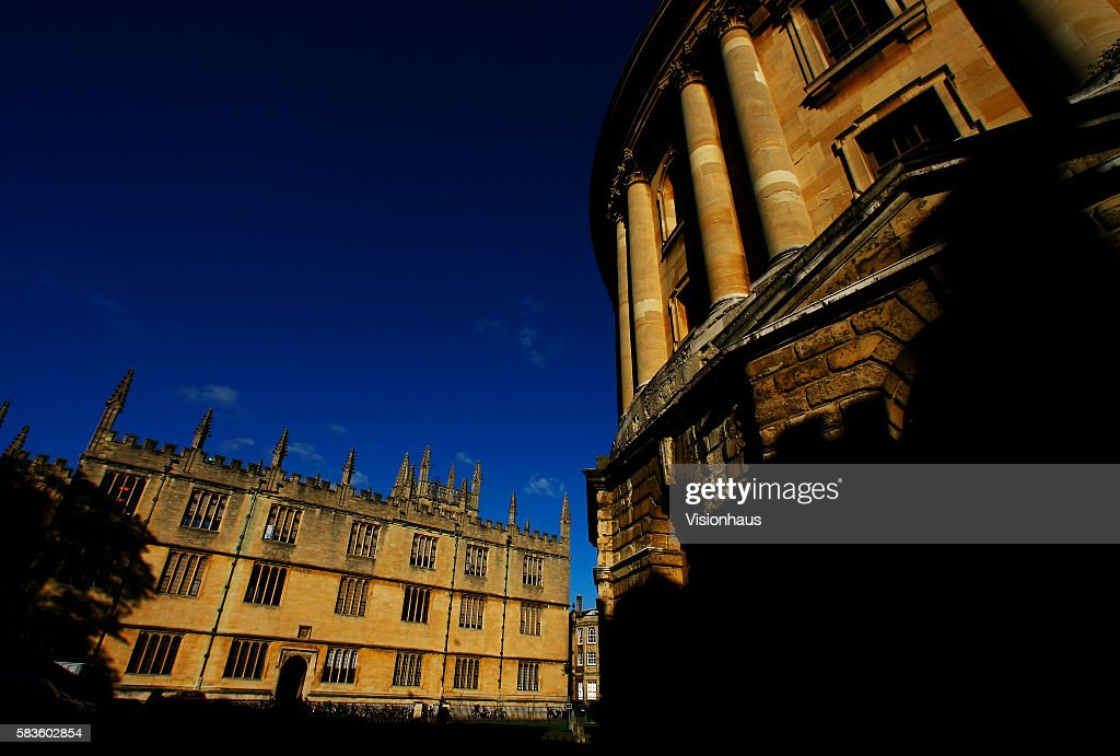 Bodleian Library and Radcliffe Camera Radcliffe Square Oxford Affectionately named 'the city of dreaming spires' by nineteenth century English poet...