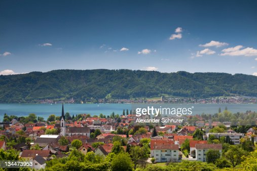 Bodman-Ludwigshafen on Lake Constance, Baden-Wuerttemberg, Germany, Europe