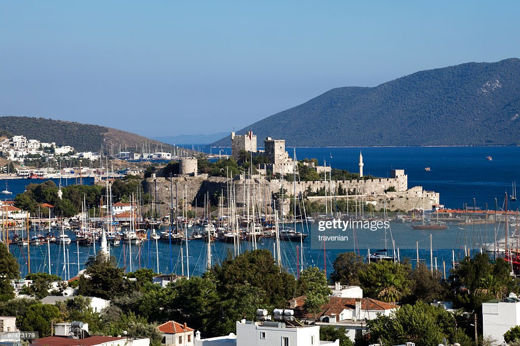 Bodrum Castle and Harbour : Stock Photo