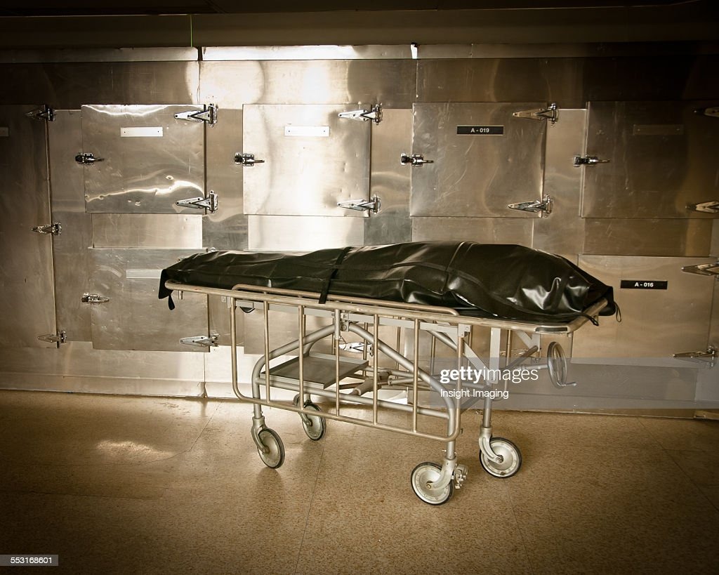 Body Bag in Morgue