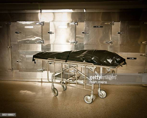 Body Bag in Morgue