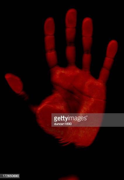 Body Horror - Red Hand