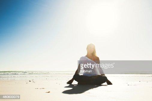 Body Mind and Spirit : Stock Photo