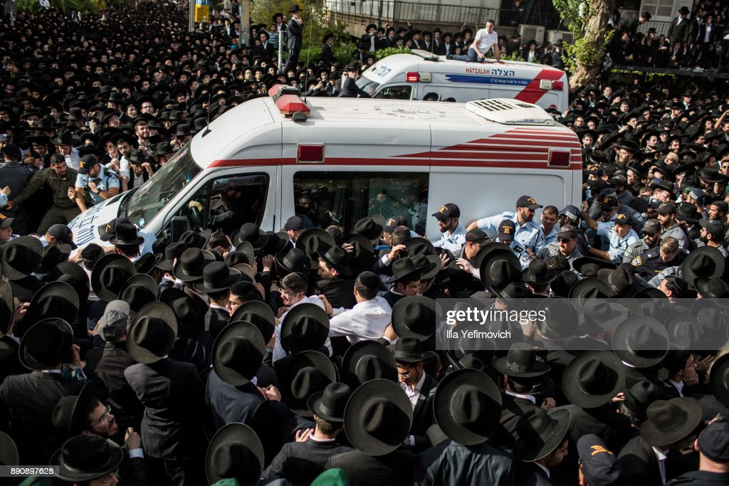 Thousands Attend the Funeral Of Orthodox Rabbi Ovadia Yoseph