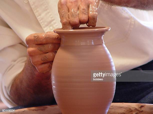 body parts - making pottery