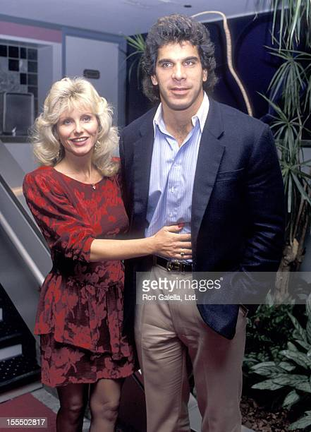 Bodybuilder and Actor Lou Ferrigno and wife Carla Green attend the 4th Annual Women In Film Festival Opening on October 12 1988 at Cineplex Odeon...