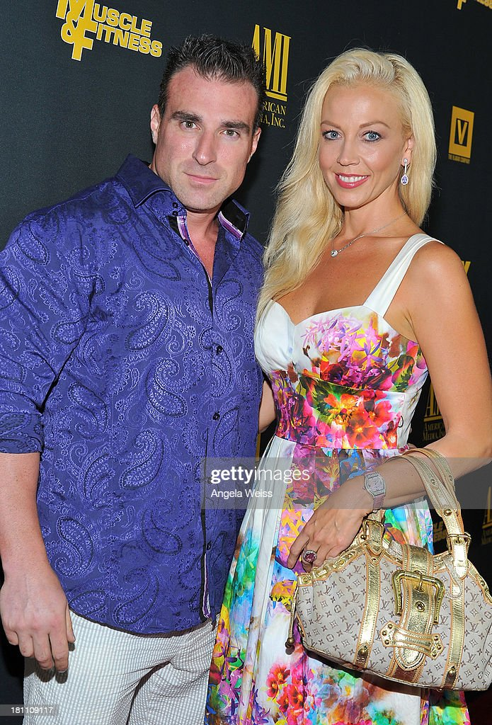 Bodybuilder Kagan Yalaman and actress <a gi-track='captionPersonalityLinkClicked' href=/galleries/search?phrase=Liz+Fuller&family=editorial&specificpeople=215127 ng-click='$event.stopPropagation()'>Liz Fuller</a> arrive at the Los Angeles premiere of 'GENERATION IRON' at Chinese 6 Theater Hollywood on September 18, 2013 in Hollywood, California.