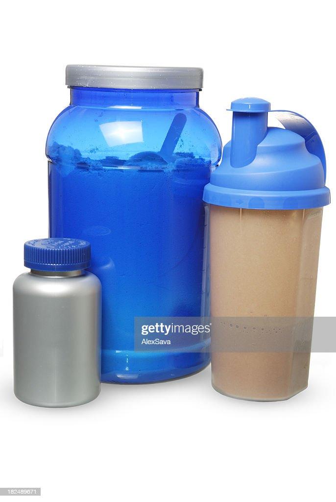 bodybuilding supplement : Stock Photo