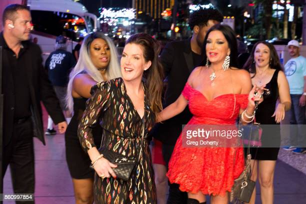 Bodyguard Ren Bray and Actresses Kira Reed Lorsch Taimie Hannum and Nancy O'Brien arrive for Kira Reed and Taimie Hannum Double Birthday Bash at Hard...