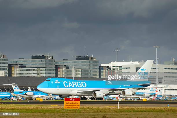 KLM Boeing 747 Cargo airplane