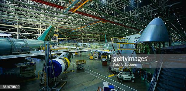 Boeing 747 Production Line