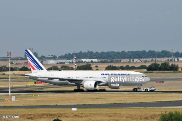 Boeing 777 FGSPQ belonging to the French airline Air France