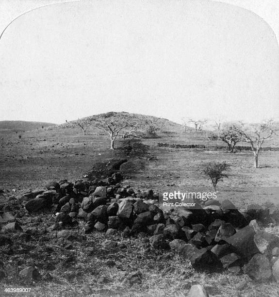 Boer trenches and crest of Hart's Hill Colenso South Africa 1901 Scene of the Irish Brigade's famous charge The Battle of Colenso was a humiliating...