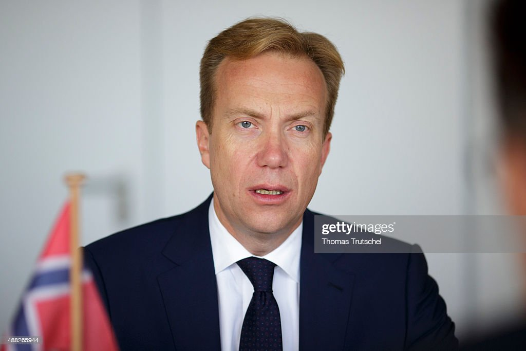 Boerge Brende, foreign minister of Norway on September 15, 2015 in Berlin, Germany.